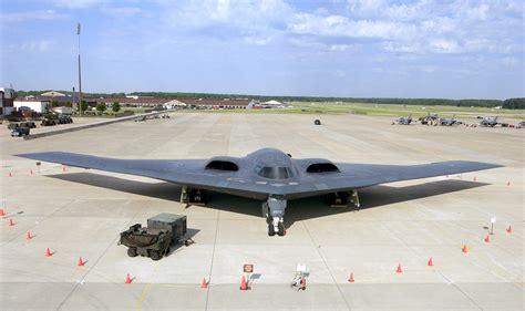 U.s. Air Force (usaf) B-2 Spirit Stealth Bomber Parked At