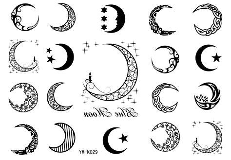 Tattify Crescent Moon Temporary Tattoo