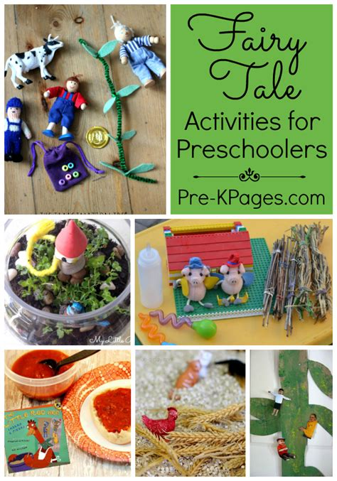 a collection of tale activities pre k pages 775 | Fairy Tale Collage Pinterest 700x1000