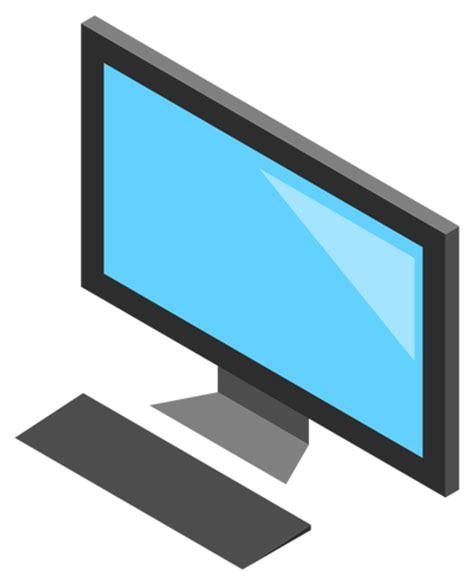 icone de bureau icône de bureau pc avec image vectorielle moniteur