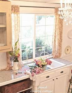 Vintage Inspired Guest Cottage Kitchen - FRENCH COUNTRY ...