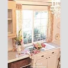 Vintage Inspired Guest Cottage Kitchen  French Country
