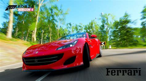 We do some fh4 customization and toss in a ferrari fxxk. Forza Horizon 4 2018 Ferrari Portofino Gameplay *Horizon Promo* - YouTube