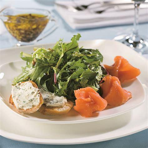 cuisine saumon salade de saumon fumé recettes cuisine et nutrition