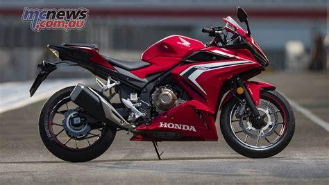 Honda Cbr500r 2019 by 2019 Honda Cbr500r More Grunt Sharper Looks Mcnews