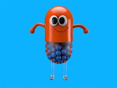 Pill Dribbble Phill Lil Animation 3d