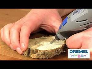 How to carve wooden decorations with the Dremel Stylus