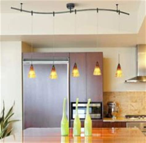 kitchen pendant track lighting fixtures