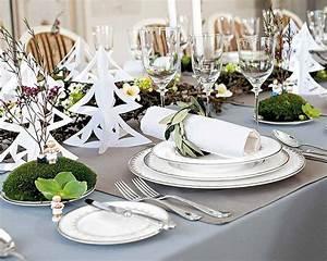 Table De Fete Decoration Noel : d coration de table l gante et originale pour la f te de no l ~ Zukunftsfamilie.com Idées de Décoration