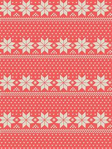 christmas, fairisle, jumper, pattern, pink - image #248985 ...