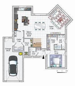 maison ouverte sur le monde detail du plan de maison With amenagement jardin petite surface 3 maison ouverte sur le monde detail du plan de maison