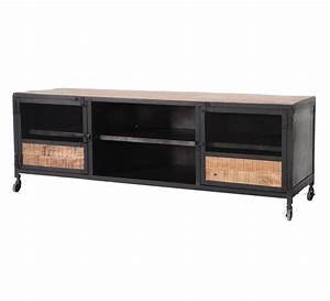 Meuble Cache Tv : meuble cache tv latest meuble tv meliconi ghost cube ~ Premium-room.com Idées de Décoration