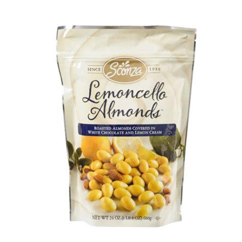 Lemoncello Lemon White Chocolate Covered Almonds (24 oz ...