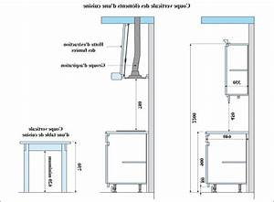 Dimension Standard Meuble Cuisine : dimension meuble cuisine meuble cuisine mural cbel cuisines ~ Teatrodelosmanantiales.com Idées de Décoration