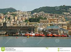 View of Genoa city, Italy stock image Image of exteriorly