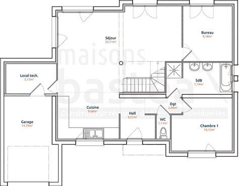 plan de maison plain pied 4 chambres gratuit les 25 meilleures idées de la catégorie maison cubique sur