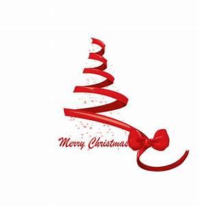 Christmas ribbon vector Free Vector / 4Vector