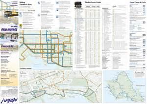 Honolulu Bus Route Map