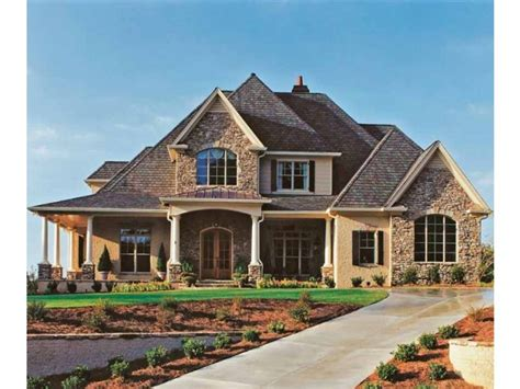 french country house plans  porches rustic country house plans house project plan