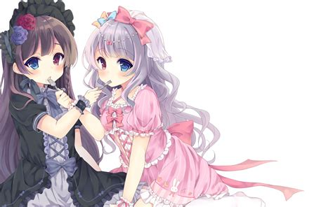 Loli Anime Wallpaper - 1680x1050 anime loli heterochromia black
