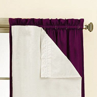 Blackout Curtain Liners Bed Bath And Beyond by Sound Asleep Blackout Window Curtain Liner