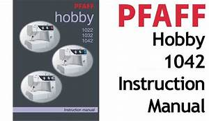 Pfaff Sewing Machine Owners Guides Or Users Instruction