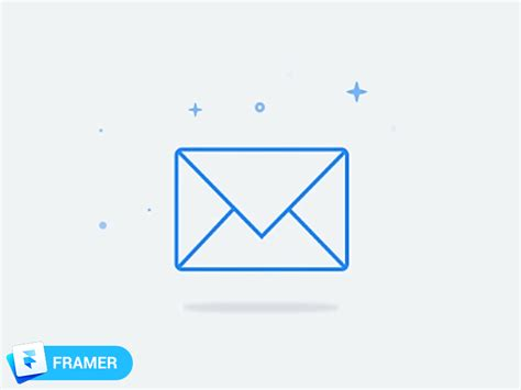 Mail Sparkle Animation By Jonathan Arnold