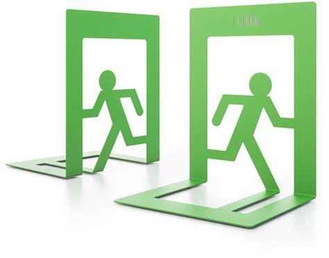 Exitus bookends design concept