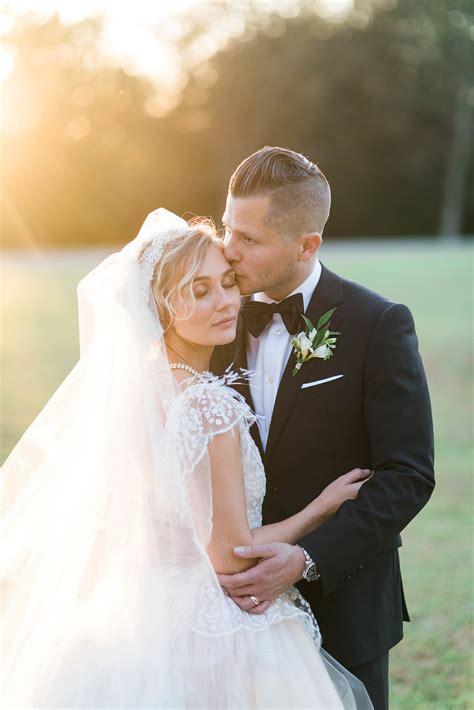 nashvilles clare bowen helped design  wedding dress