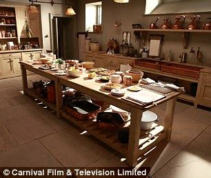 downton kitchen design lifestyle upstyle downstairs daily mail 6946