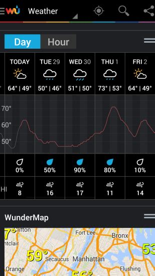 weather underground app for android weather underground for android mobile app reviews