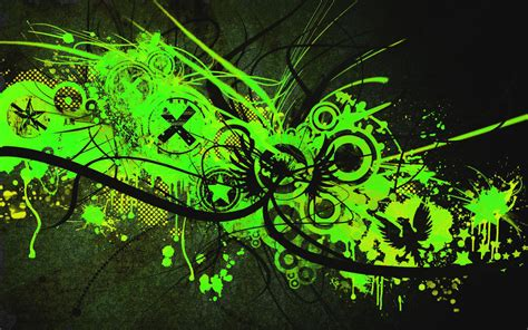 Abstract Black Green Background by Green And Black Abstract Wallpaper 18 Background
