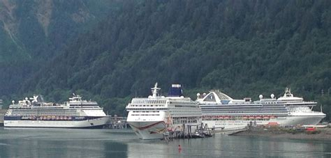 Alaska Cruise Industry Grows Global Share Shrinks
