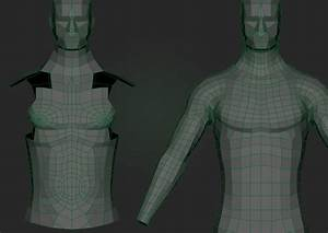 Chest And Stomach Topology  U2014 Polycount
