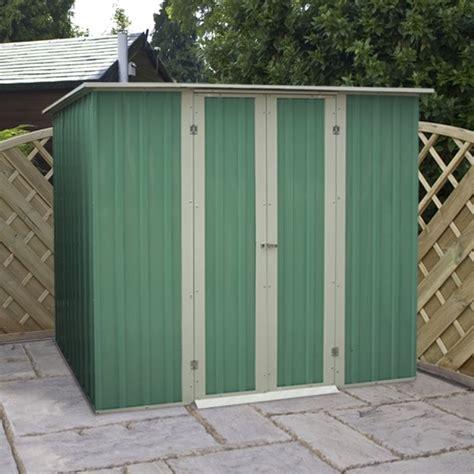 pent metal shed 6 x 4 waltons pent metal shed