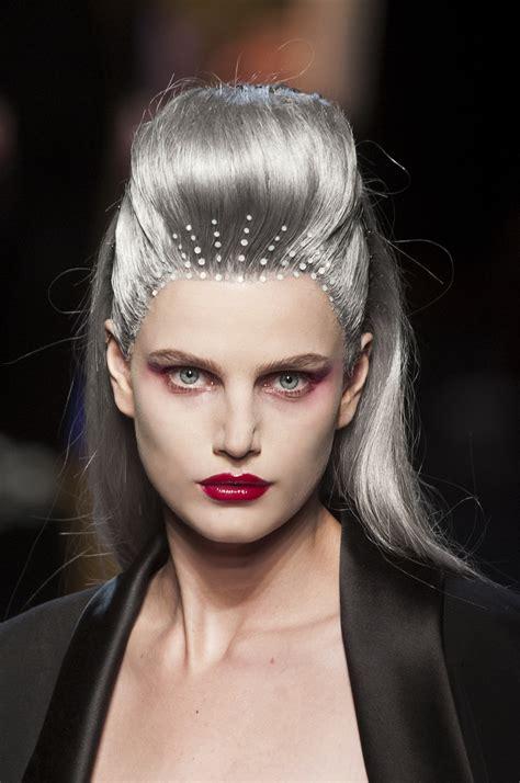 grey hair  glam find     latest trend