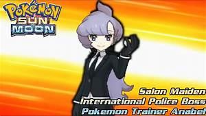 Pokemon Sun And Moon Gameplay #27: Salon Maiden ...