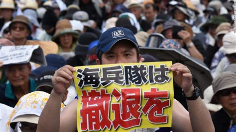 okinawa us returns land it s controlled since wwii to japan cnn