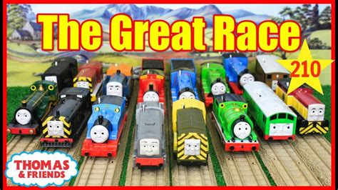 Thomas And Friends The Great Race #210 Trackmaster Thomas