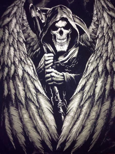 Evil Skull Grim Reaper