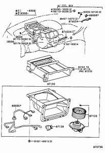 Toyota Previa Hvac Blower Motor Resistor  Lower   Resister