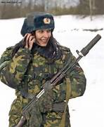 Russian Soldier image ...Russian Female Soldiers
