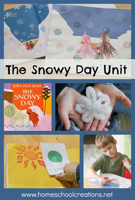 the snowy day preschool corner 808 | The Snowy Day Unit