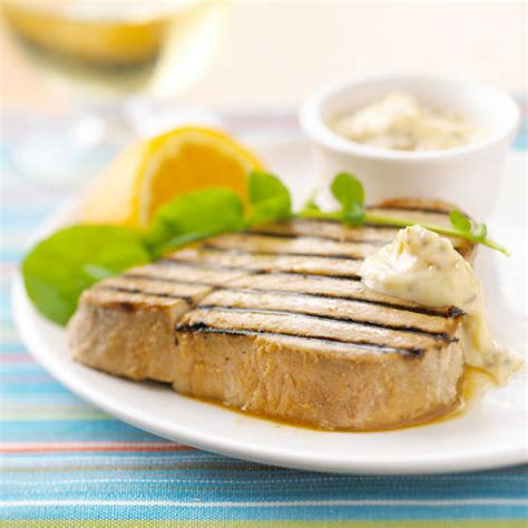 tuna steak recipes tuna steaks with cumin tartar sauce