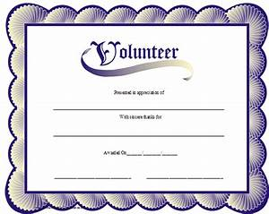 volunteer appreciation certificates online signup blog With volunteer recognition certificate template