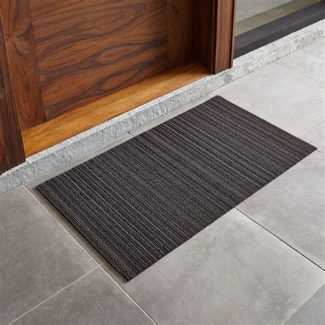 Modern Doormats Outdoor by Chilewich 174 Steel 20 Quot X36 Quot Doormat Crate And Barrel