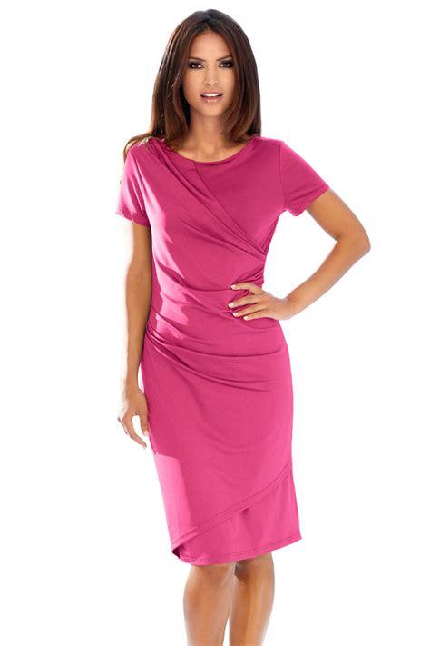 heine drape jersey dress shop ezibuy