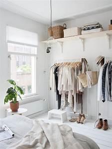 12 No-Closet Clothes Storage Ideas Room Makeovers to