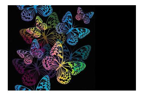 baixar de papel de parede 3d borboletas gratis