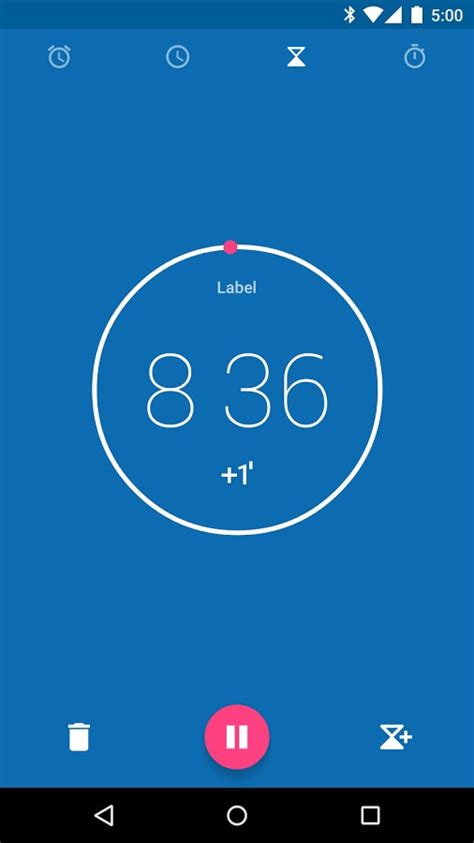 clock app android launches clock app with material design in play